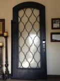 Porta do ferro clássico decorativo da segurança única