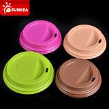 Multi крышка пластмассы кофейной чашки бумаги цвета