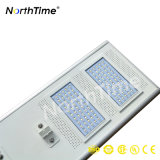 Lâmpadas de rua solares completas do diodo emissor de luz da patente Ce/RoHS do controlador IP65 de MPPT