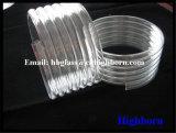 Tubo di vetro elicoidale del quarzo fuso della radura di elevata purezza