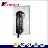 방수 전화 자동 다이얼 전화 Knzd-10 공중 전화 은행 전화