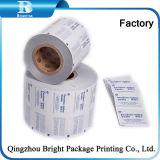 El papel de aluminio de papel para embalaje de barrido húmedo Single-Packed