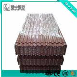 tetto di 750/680mm Nigeria PPGI che riveste/strato d'acciaio impresso del tetto del ferro
