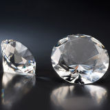 50mm 60mm 결혼 선물 수정같은 다이아몬드, 유리제 다이아몬드 주문 조각