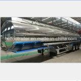 acoplado de aluminio del depósito de gasolina del espejo 40000liters