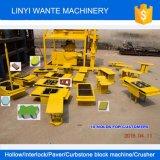 Machines wt2-10 van Wante Dubbele het Maken van de Baksteen van Eco van Blokken Machine