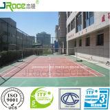 Доработанный материал поверхности суда Badminton PU силикона