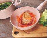 Повредить антипригарное покрытие керамической сковороде обжарьте алюминиевый поддон Skillet посуда