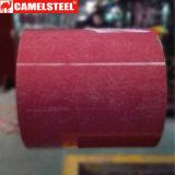 La largeur du prix bas Dx51d 600-1250mm a enduit l'acier d'une première couche de peinture galvanisé