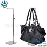 Présentoir en acier de sac à main en métal/stand bride de fixation de sac à main