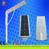 Diodo emissor de luz elevado Street Light 40W de Efficiency 5 Years Warranty Integrated Solar