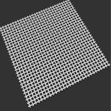 Acoplamiento de alambre cuadrado galvanizado para la pantalla