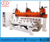 5 축선 Multi Head 3D Wood Carving CNC Router