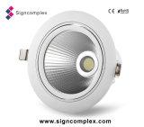 Controlador integrado 6pulgadas LED 25W Downlight de mazorca con 3 años de garantía