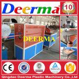 Producción del tubo del conducto del PVC que hace la máquina