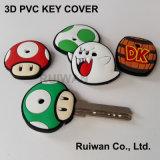 PVC Keychain di gomma di abitudine 3D per i regali promozionali