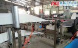Máquina de dobramento de papel do guardanapo de alta velocidade do restaurante 2 camadas