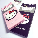Personalização Hello Kitty Cigarette Shape Silicone Cover Case