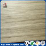 impiallacciatura di legno ricondizionata bianca del fronte costruita pattino di 0.5mm