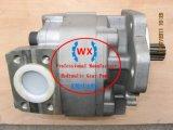Komatsu (WA500-1. WA500-3. WS23S-2. WF550T-3) 전송 펌프와 더불어 토크 변환기 펌프: 705-12-38010 예비 품목