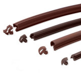 Junta de extrusão de borracha de silicone flexível para portas e janelas de madeira