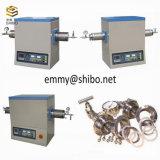 fornace della valvola elettronica del laboratorio 1200c per il trattamento termico