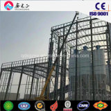 Stahlkonstruktion vorfabriziertes Warehuse zu angepasst