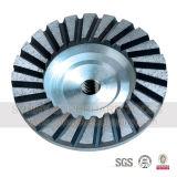 Абразивный диск чашки диаманта рядка металла Bond двойной для каменного бетона