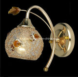 Lámpara de pared / luz cristalinas del grano con el cristal (9195 / 1A)