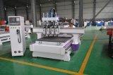 Ce одобрил машину CNC 4 шагов деревянную работая