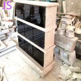 Shanxi nichos em granito preto Columbarium Memorial de crematórios