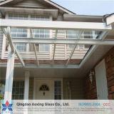 建物または装飾のための6+9A+6mmの平らで明確な絶縁されたガラス