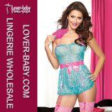 Ropa interior atractiva Plus Tamaño de la ropa interior de las mujeres (L28009-4)