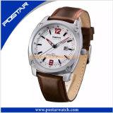 Uhr-Form-Sport-Uhr der neuen kommenden Edelstahl-Quarz-Schweizer-Uhr-Männer