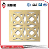 Панели экрана профессионала высеканные CNC алюминиевые Ideabond