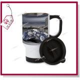 14oz Sliver e White Sublimation Stainless Steel Travel Mug