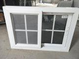 El espesor de 2,5 mm estándar europeo de UPVC bloquea con un toque de ventana deslizante