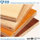Papel de melamina de alta qualidade confrontada madeira contraplacada de decoração