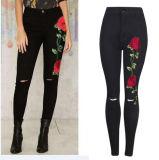 2017 горячая продажа Эластичные джинсы для женщин