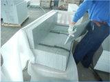 Pietra naturale per le pedate, arrotondare la punta esterno delle scale