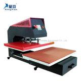 Machine pneumatique monoposte de presse de la chaleur, une machine d'impression plate pneumatique de sublimation de transfert thermique de station