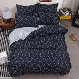 4 PCSの印刷ポリエステル寝具の寝具