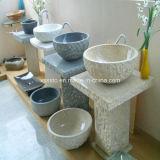 Parti superiori di vendita calde di vanità della stanza da bagno del granito