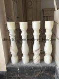 Onxy Blanco Chino azulejos de mármol para suelos, paredes, Escaleras, Pasamanos