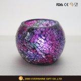 Supporto di candela a forma di decorativo dell'uovo di mosaico di modo