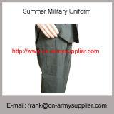 Uniforme funzionante all'ingrosso di estate di addestramento militare della polizia di verde dell'esercito della Cina