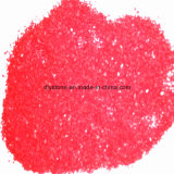 Rood Gekleurd Zand Slica voor Decoratie