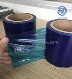 film bleu du PE 60micron pour la feuille en aluminium en verre de PVC de profil
