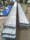 Panneau en aluminium de toit de couture de position