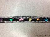 Il modo colora gli accessori Chain dell'indumento del tessuto di cotone della guarnizione del merletto dei branelli